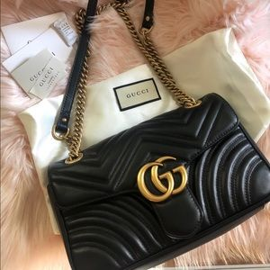 %100 Authentic Gucci Marmont GG Bag